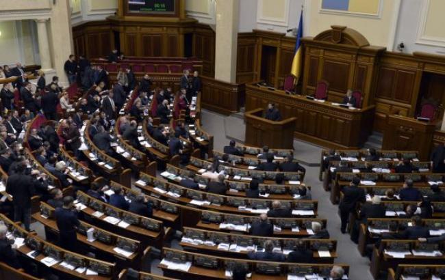 Рада відхилила законопроект про парламентську опозицію