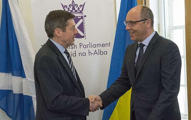 Украина выступает за активизацию межпарламентского сотрудничества с Шотландией