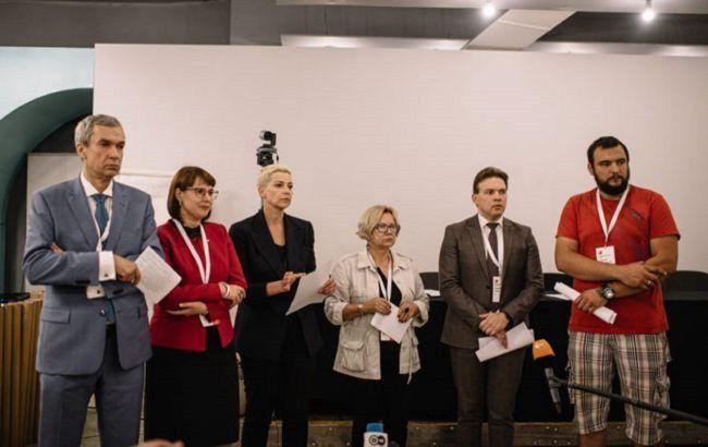 До Координаційної ради опозиції Білорусі увійшли понад 5 тисяч осіб