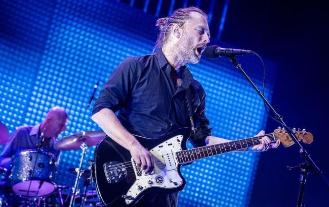 Фото: Соліст Radiohead Том Йорк