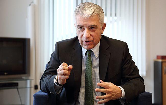 Посол Германии вКиеве вызван вМИД Украины