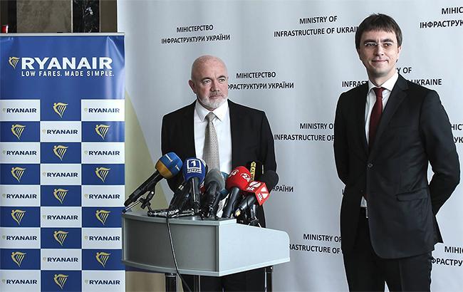 Дэвид О'Брайан и Владимир Омелян надеются на долгосрочное сотрудничество