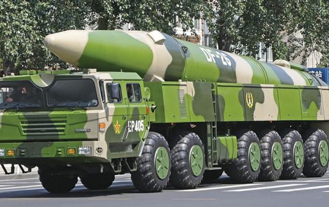 Фото: Китай розміщує ракетні установки на острові в Південно-Китайському морі