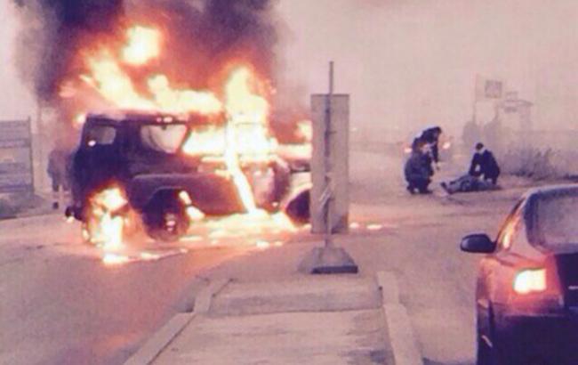В Санкт-Петербурге неизвестные расстреляли машину полиции, двое правоохранителей погибли