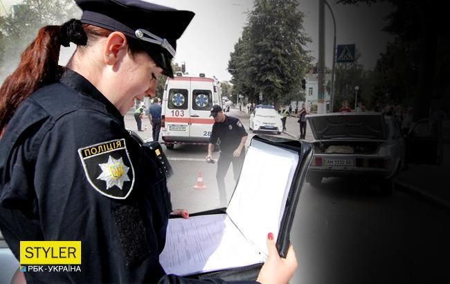 Во Львовской области автомобилист  наехал на 9-летнего ребенка и влетел в столб