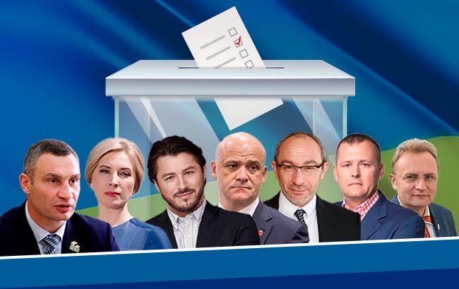 Список кандидатів у мери на місцевих виборах по містах України