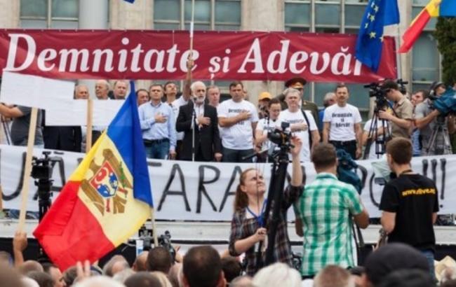 Фото: Протести у Молдові
