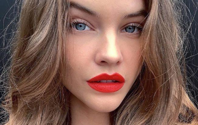 Внимание на губы: Барбара Палвин показала, как в два приема сделать образ роскошным