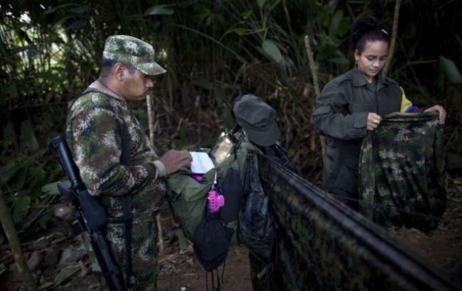 Фото: повстанці в Колумбії