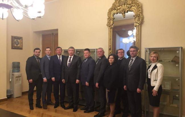 Фото: Генпрокурор Украины встретился с латвийским коллегой