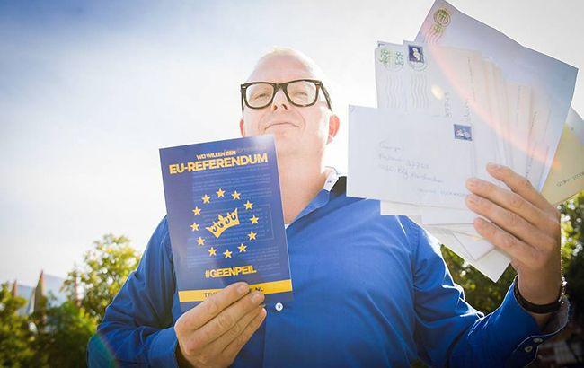 Фото: Референдум в Нідерландах по Україні
