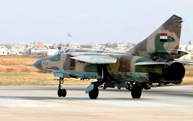 У Сирії повідомили про аварію військового літака на північ від Дамаска