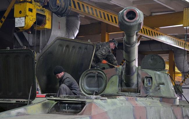 За час АТО відремонтовано майже 25 тис. військової техніки, - Міноборони