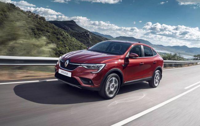 Презентований у Києві Renault Arkana будуть виробляти на ЗАЗ