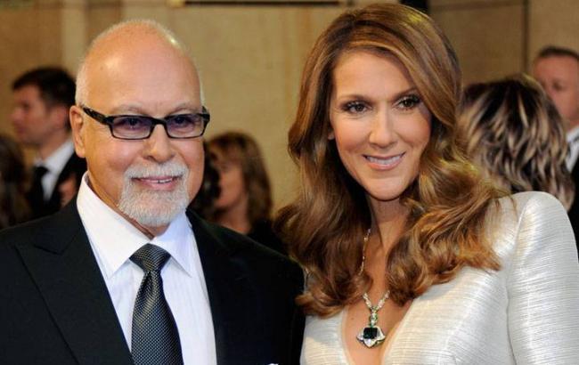 Фото: Селин Дион с супругом Рене Анжелил