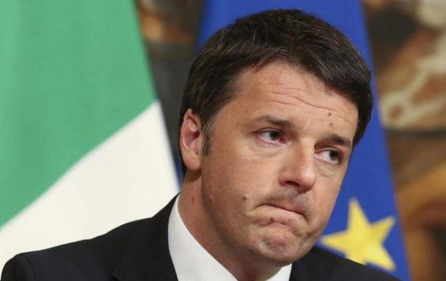 Бывший премьер Италии Ренци ушел с поста лидера правящей партии