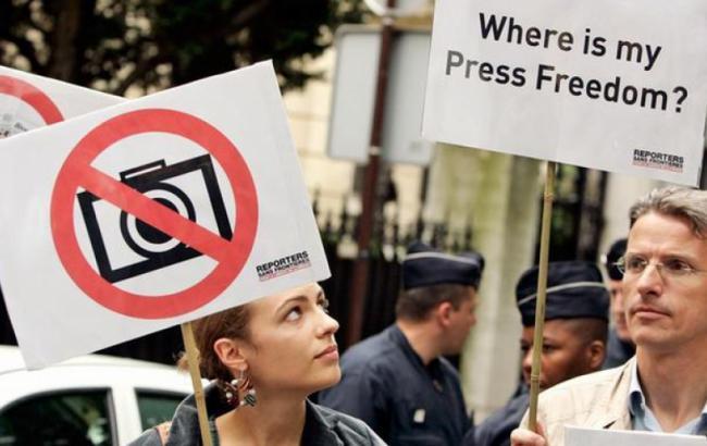 Индекс свободы СМИ вмире: Украина поднялась на 5 позиций