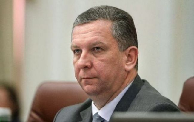 Фото: министр социальной политики Украины Андрей Рева