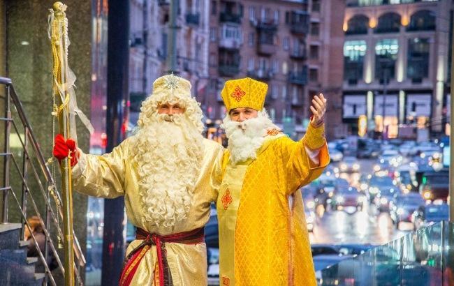 Фото: Деда Мороза заменят Святым Николаем (vesti-ukr.com)