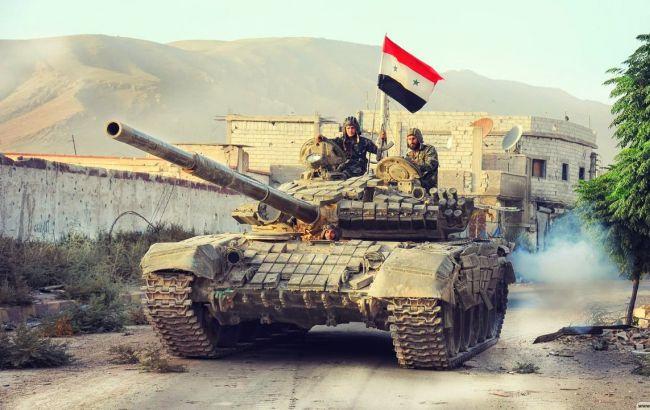 Фото: правительственные войска Сирии заявляют о прекращении перемирия