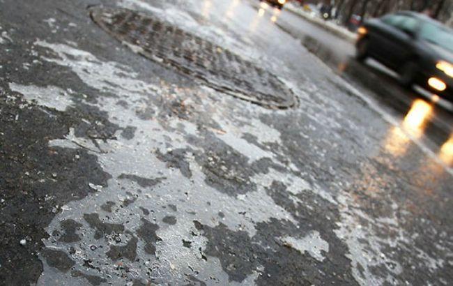 Фото: в Киеве ожидается гололедица