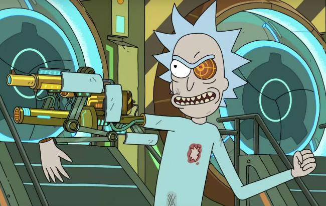 "Фото: кадр из сериала ""Рик и Морти"""