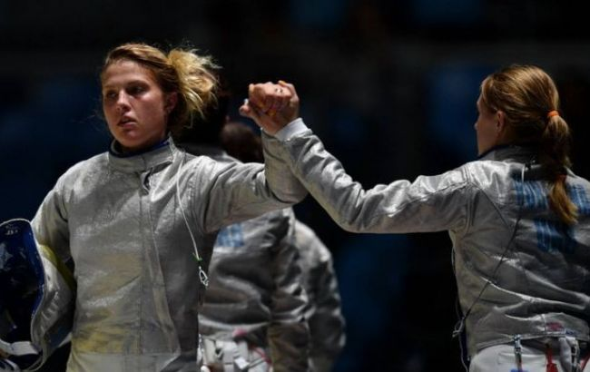 Фото: у фіналі українська команда змагалась із російськими спортсменками