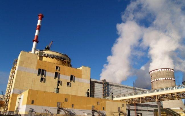 Энергоблок №2 ЗАЭС подключен ксети, аэнергоблок №3 РАЭС отключен