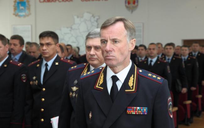 Фото: первый замминистра внутренних дел РФ Александр Горовой