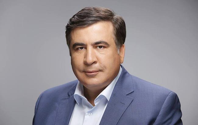 Фото: Михаил Саакашвили призывает к смене власти в Украине