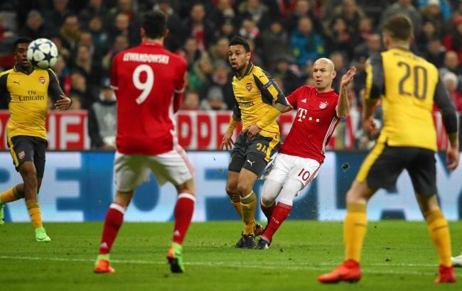 Арсенал - Баварія: прогноз букмекерів на матч