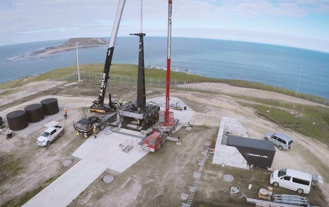 Фото: космодром у Новій Зеландії
