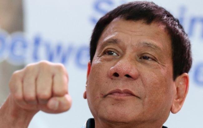 Фото: президент Филиппин Родриго Дутерте