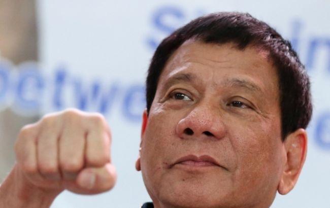 Дутерте: Филиппины небудут искать помощи уСША