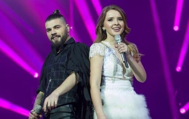 Фото: Ilinca і Alex Florea (eurovisionworld.com)