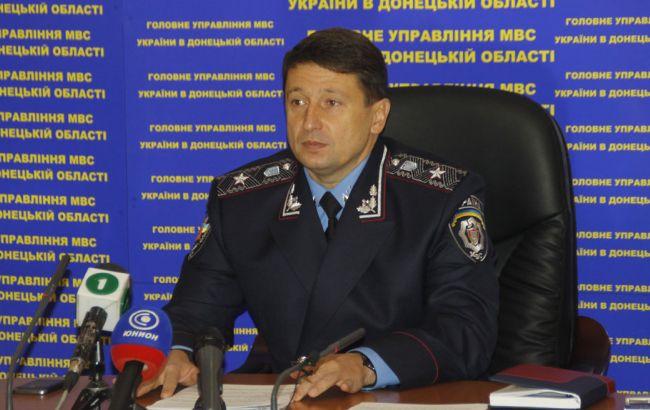 Фото: экс-глава донецкой милиции Роман Романов