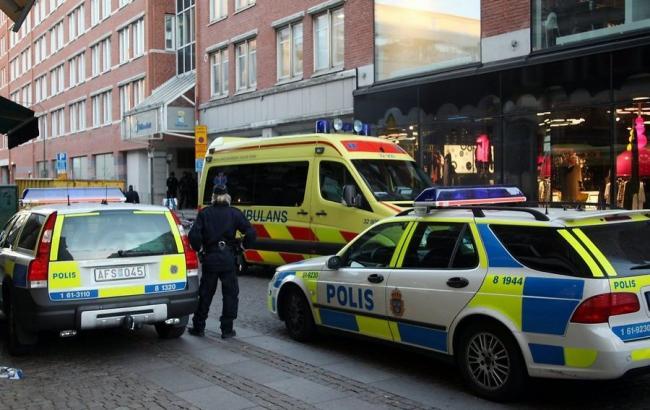 В центрі Стокгольма прогримів сильний вибух