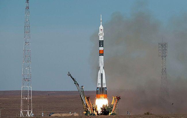 "Фото: запуск ракети ""Союз"" (roscosmos.ru)"