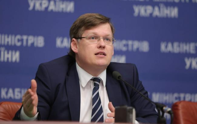 Фото: вице-премьер-министр УкраиныПавел Розенко