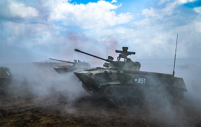 ОБСЄ зафіксувала танки бойовиків біля лінії розмежування