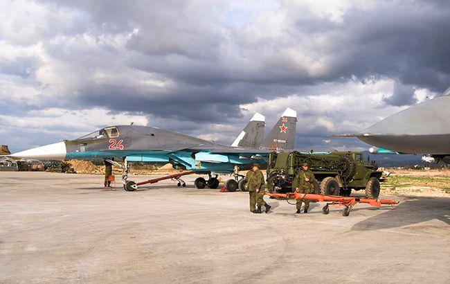 Фото: авиация РФ в Сирии