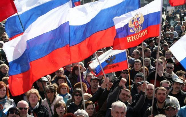Фото: 47% россиян не знают, кто виноват в провокациях в Крыму