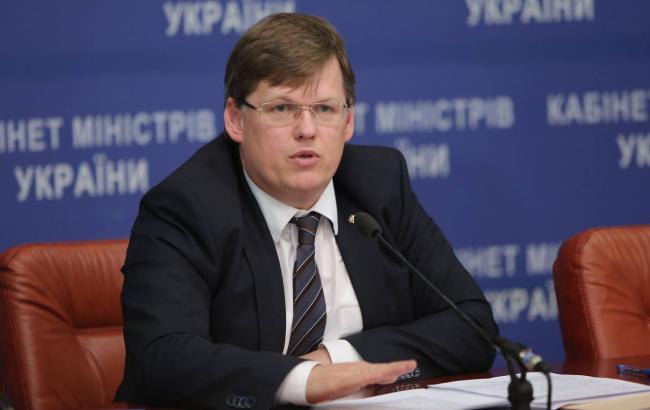 Фото: віце-прем'єр-міністр Павло Розенко