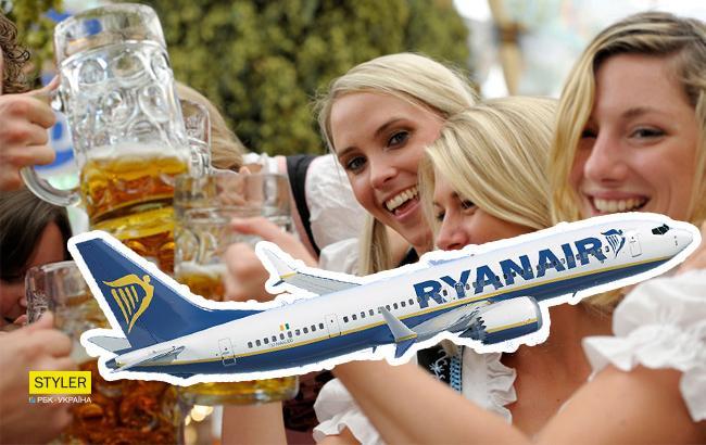 Низькі ціни та красиві жінки: у Британії рекламують польоти в Україну з Ryanair