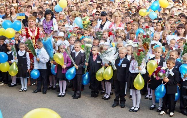 фото украинские школьники
