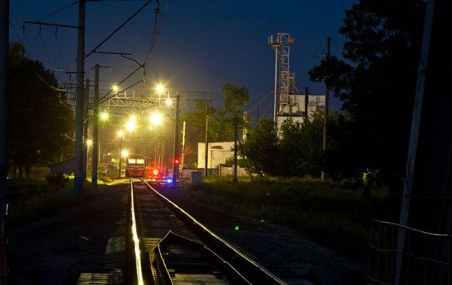 Фото: авария на железной дороге в Москве