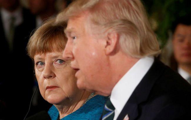 Меркель сообщила оразногласиях между европейским союзом иСША— Шестеро против одного