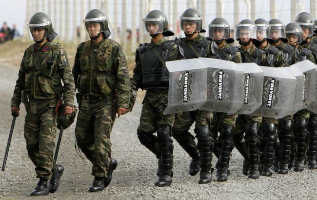 Фото: турецькі жандарми