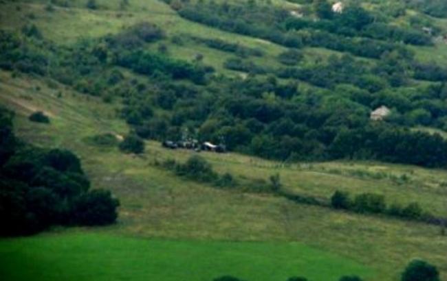 Фото: російські розвідувально-сигналізаційні комплекси розміщено поблизу України (прес-служба ДПСУ)