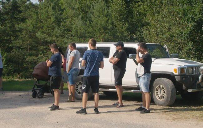 У Литві місцеві жителі протестують проти наметового містечка для мігрантів